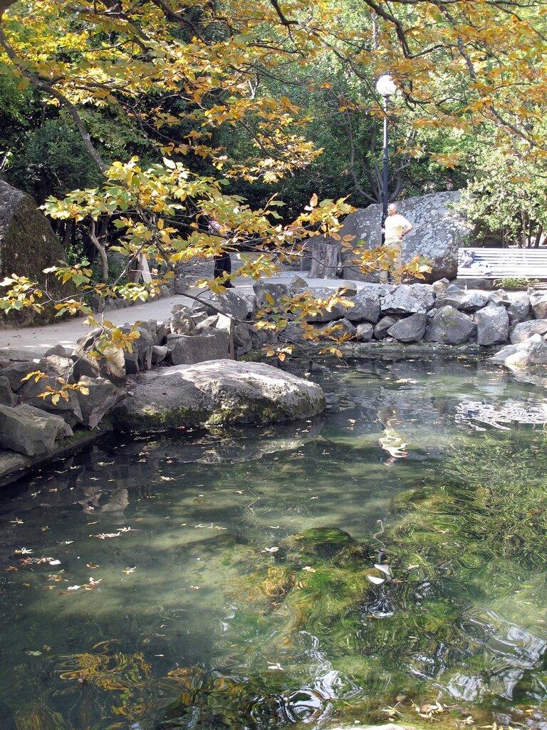 Осень в Воронцовском парке в Крыму