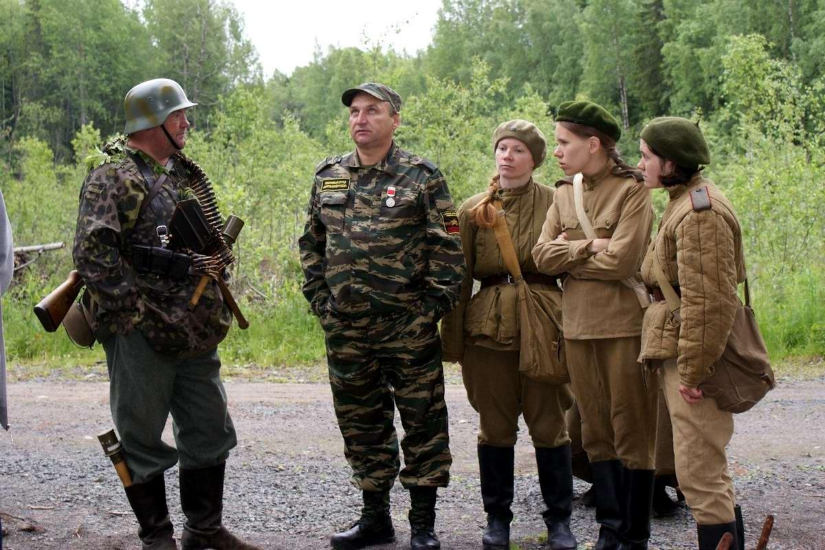 Забавные моменты из жизни военных реконструкторов (54)