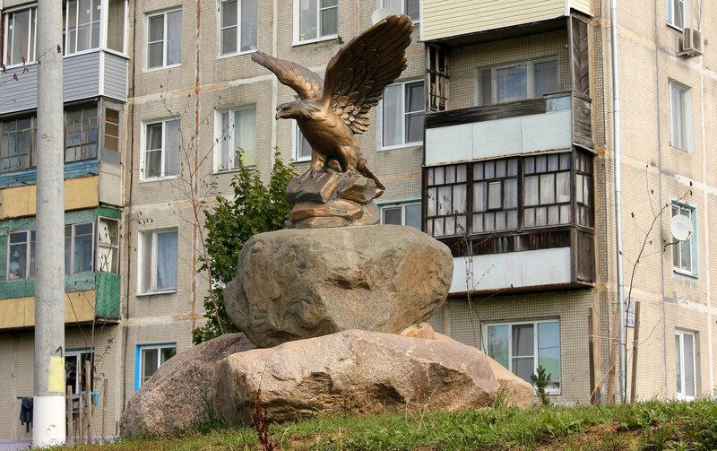 Городское место отдыха, орёл