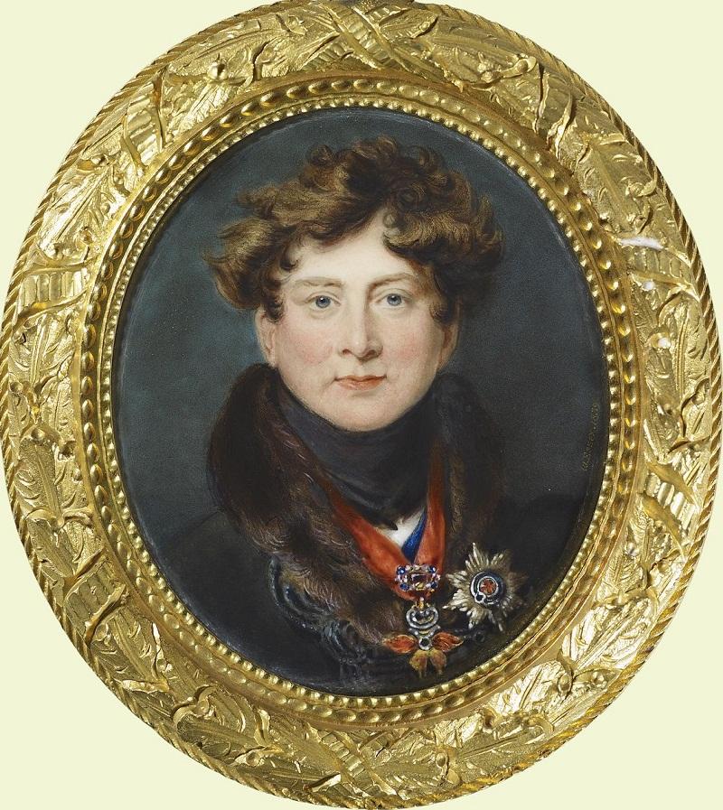 Георг IV (1762-1830)  Подпись и дата 1839