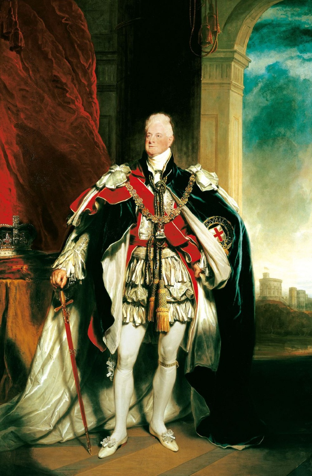 Sir Martin Archer Shee (1769-1850)William IV (1765-1837)  1833-34