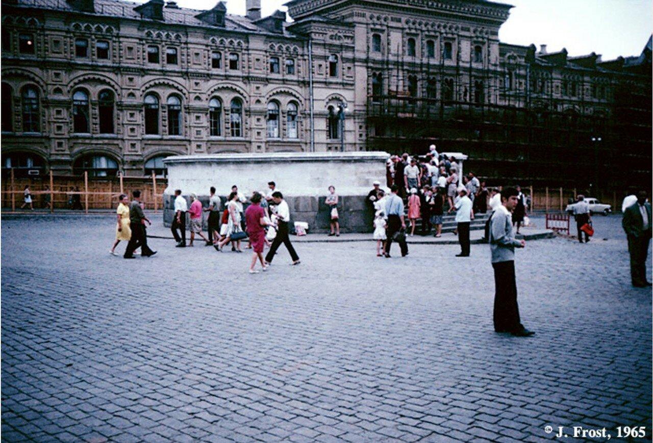 1965. Москва. Лобное место на Красной площади