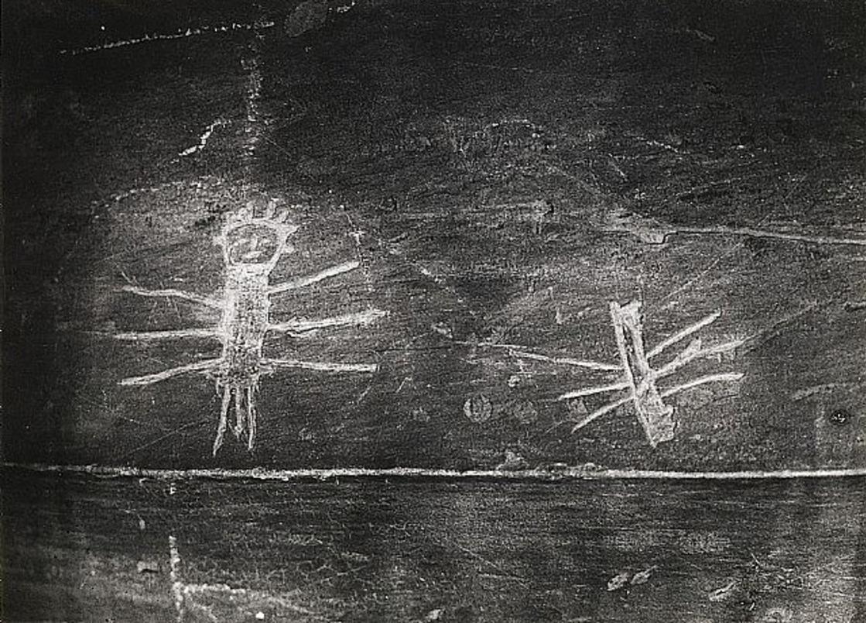 1933. Граффити. Серия IX «Примитивные образы»