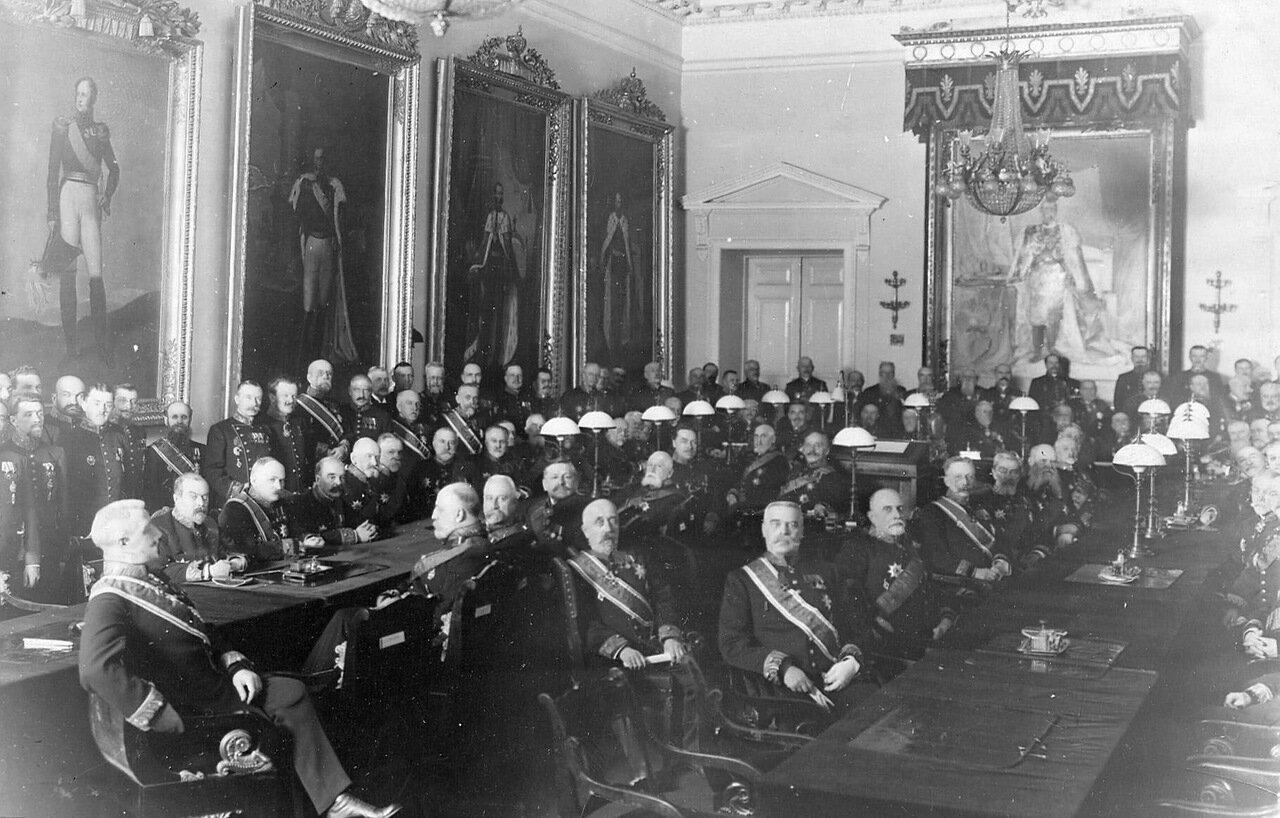 19. Заседание Сената. 1916