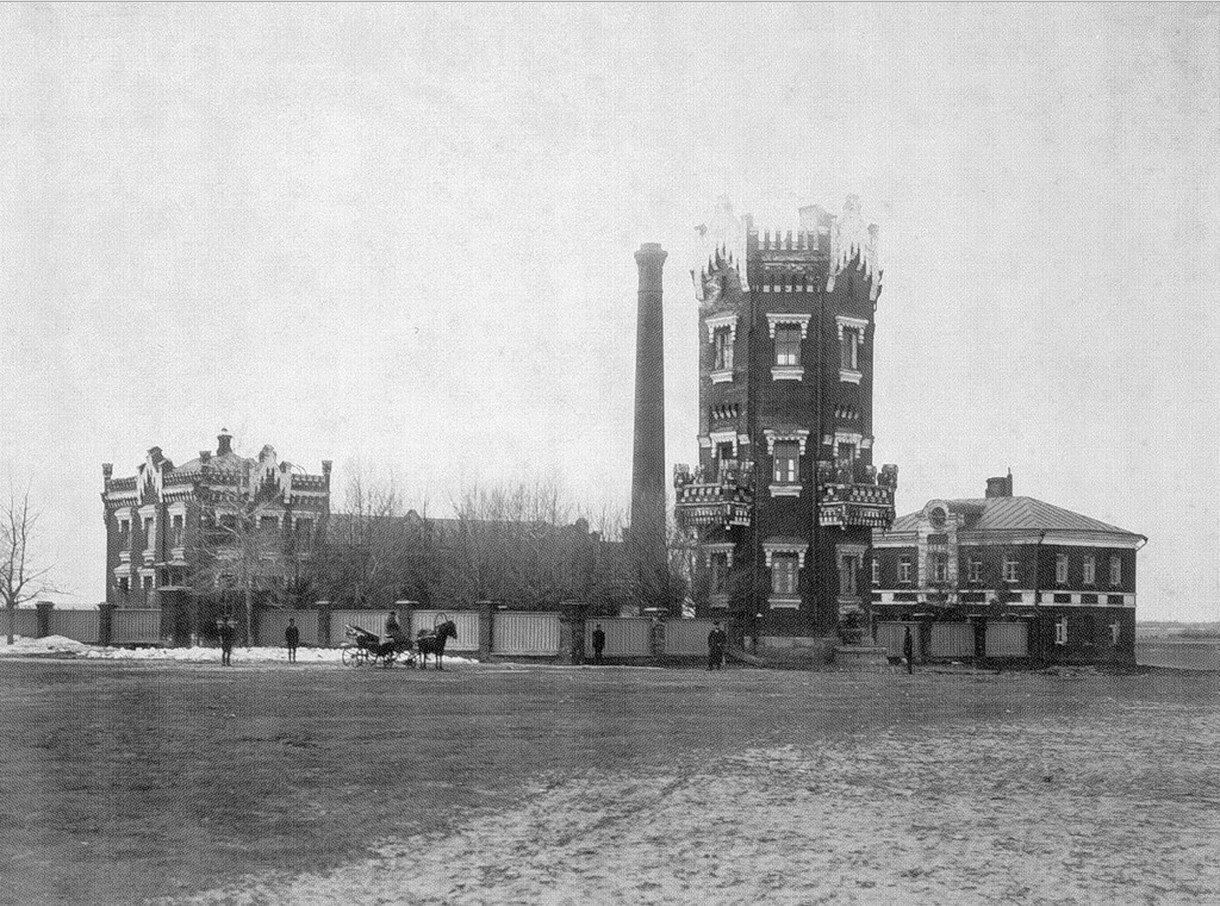 415. 1890-е. Ходынская водокачка