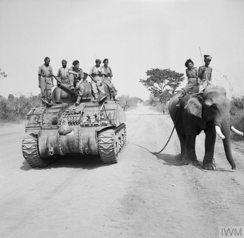 THE BRITISH ARMY IN BURMA, MARCH 1945
