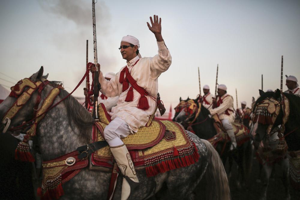 Древние традиции верховой езды в Марокко