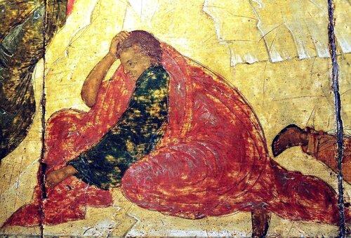 ПРЕОБРАЖЕНИЕ ГОСПОДНЕ. Иконописец Преподобный Андрей Рублёв. 1410-е годы.