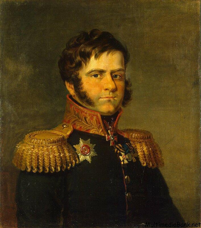 портрет Дмитрий Неверовского