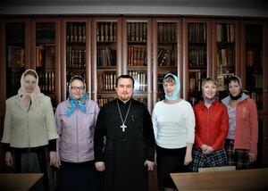 Заседание педсовета воскресной церковно-приходской школы