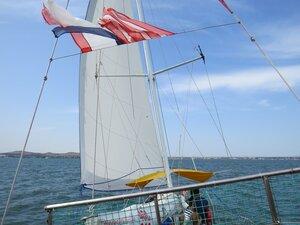 Прогулка на парусной яхте - отдых в Керчи