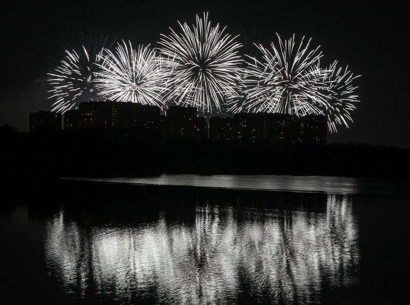 Фестиваль фейерверков 19 августа 2017 г.