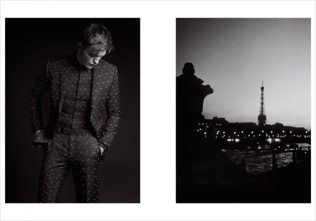 Карл Лагерфельд снял Роберта Паттинсона для Dior
