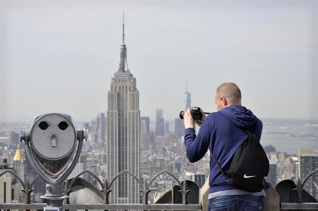 2 место. Эмпайр-стейт-билдинг — небоскрёб в 102 этажа. (Rob)