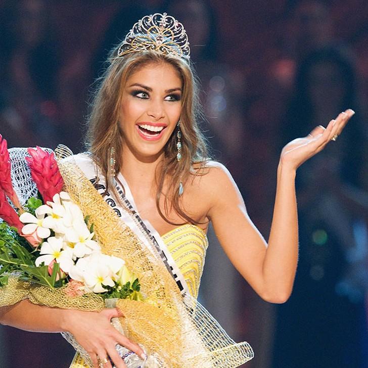 Дайана Мендоса, Венесуэла. «Мисс Вселенная — 2008». 22 года, рост 178 см, параметры фигуры 88?60