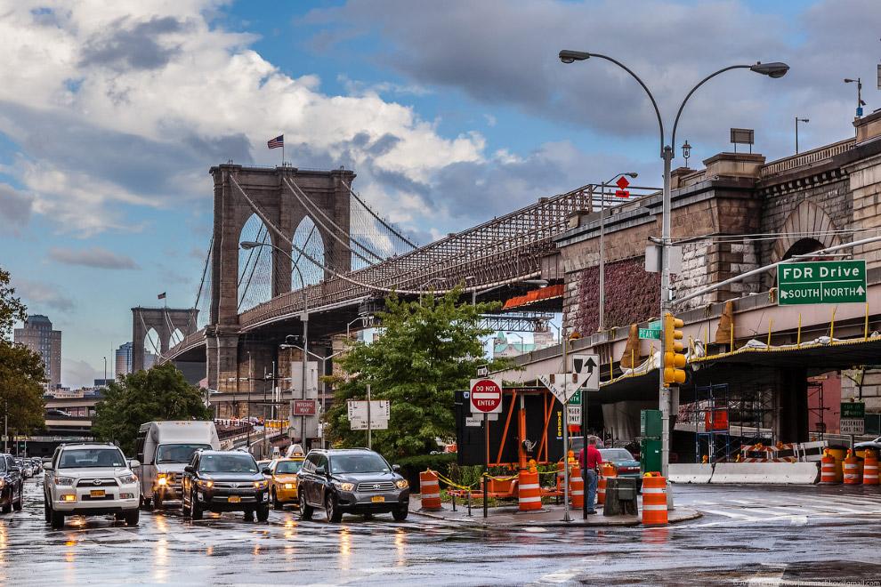 21. Бруклинский мост.
