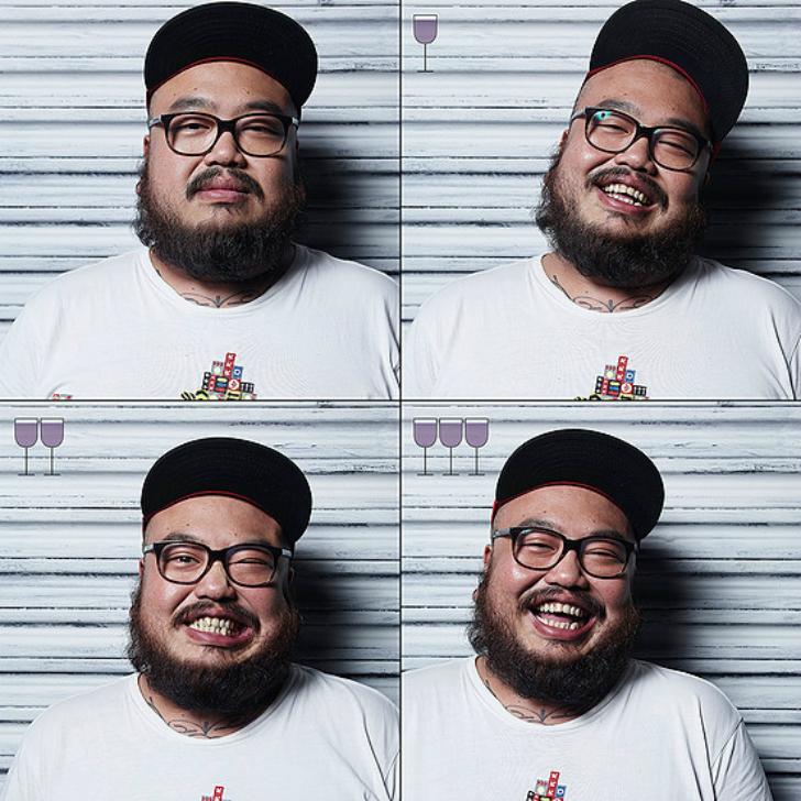 Все оттенки пьяного: лицо до и после пары бокалов (15 фото)
