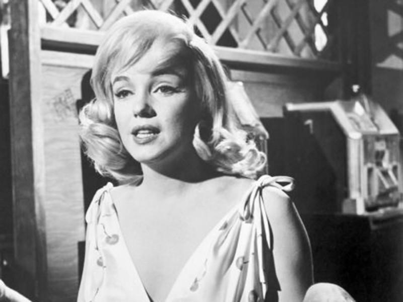 Мэрилин Монро , « В джазе только девушки » и «Неприкаянные» Мэрилин Монро, как известно, была немног