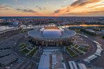 Зенит Арена — июль 2017