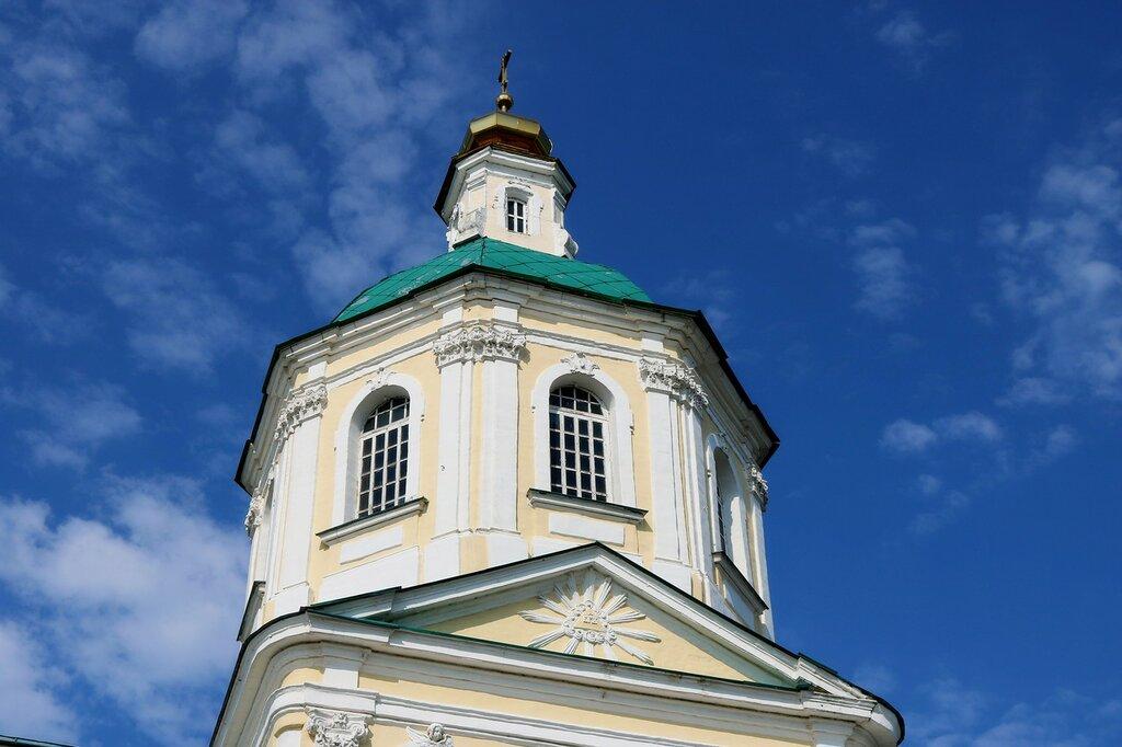 Церковь Спаса Нерукотворного Образа в Киово