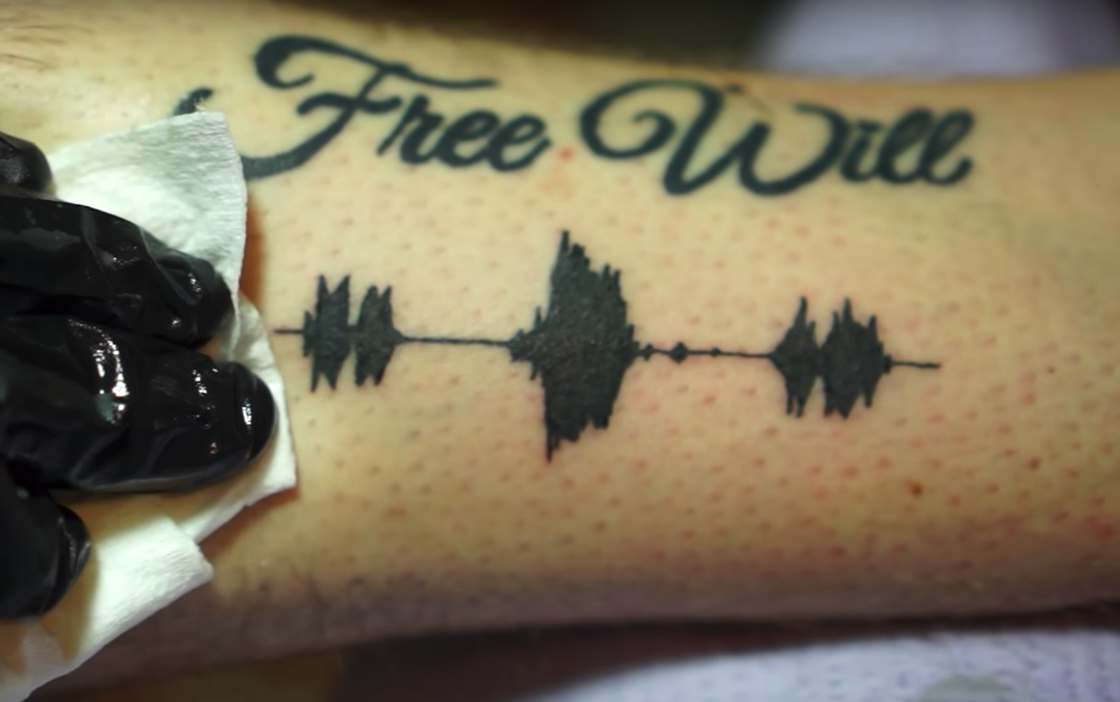 Skin Motion - These tattoos reveal sound messages