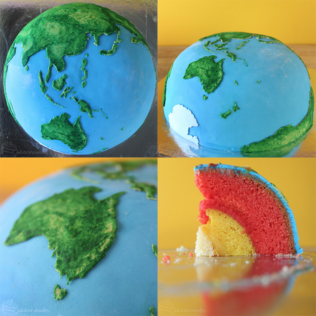 Self-taught chef Rhiannon over at Cakecrumbs has been working on a fun series of planetary cakes tha
