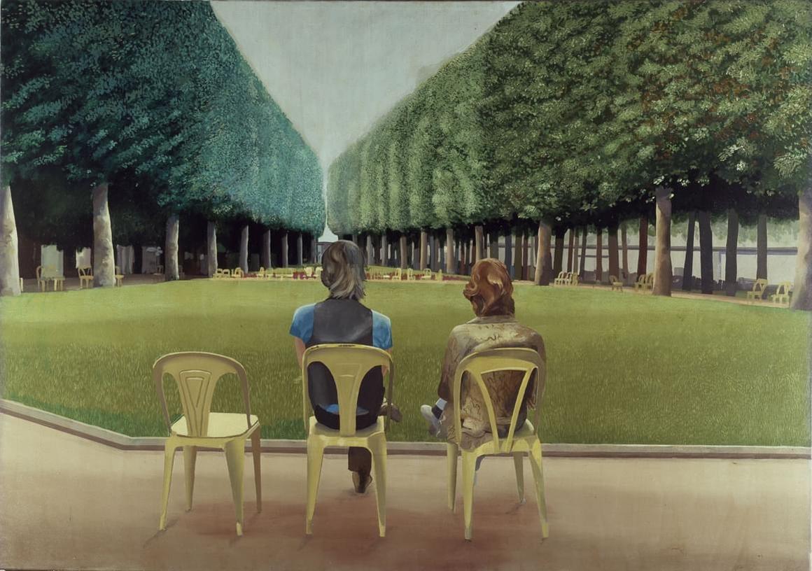 Le Parc des Sources, Vichy, 1970