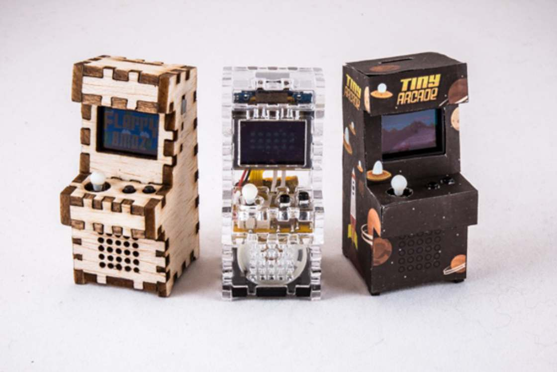 Tiny Arcade - The functional DIY miniature arcade cabinet