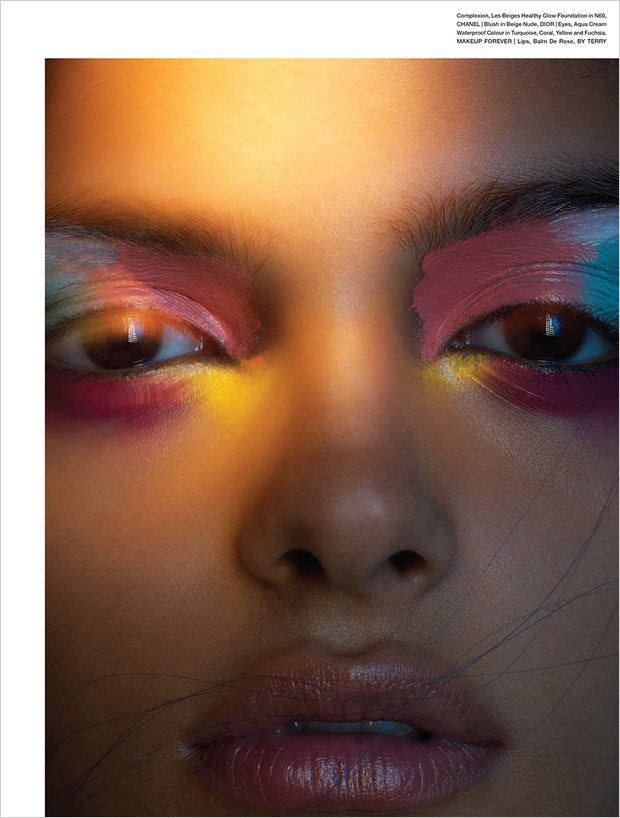 The World at Night: Eliza Fairbanks Poses for MOJEH Magazine
