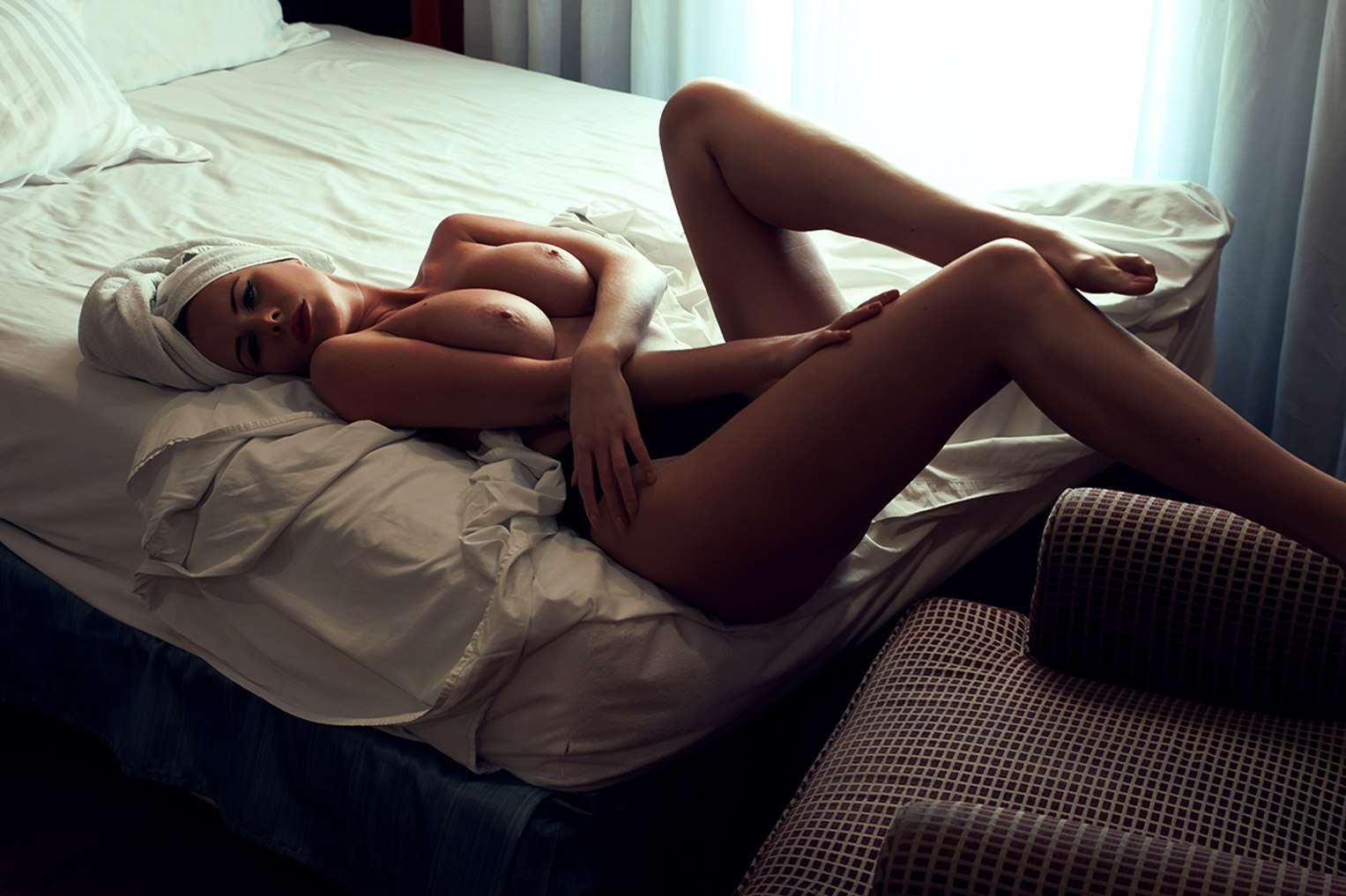 Нина Свон / Nina Swan nude by William Beauplant - Dixie Hollywood Hotel / Coy Culture