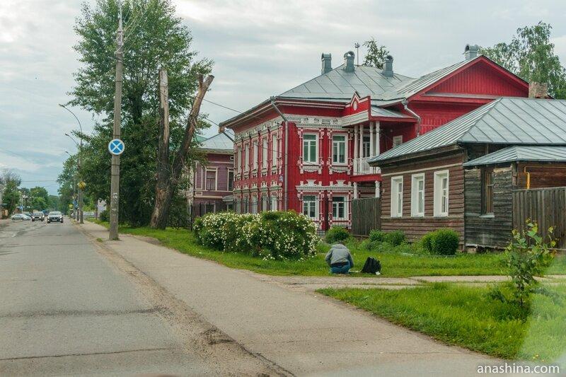 Дома по улице Гоголя, Вологда