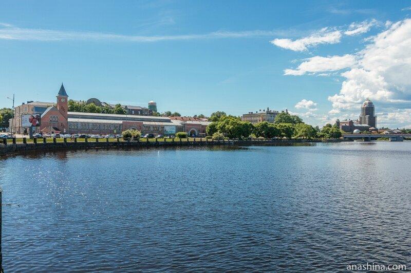 Северная гавань, Выборгский рынок и Выборгский замок, Выборг