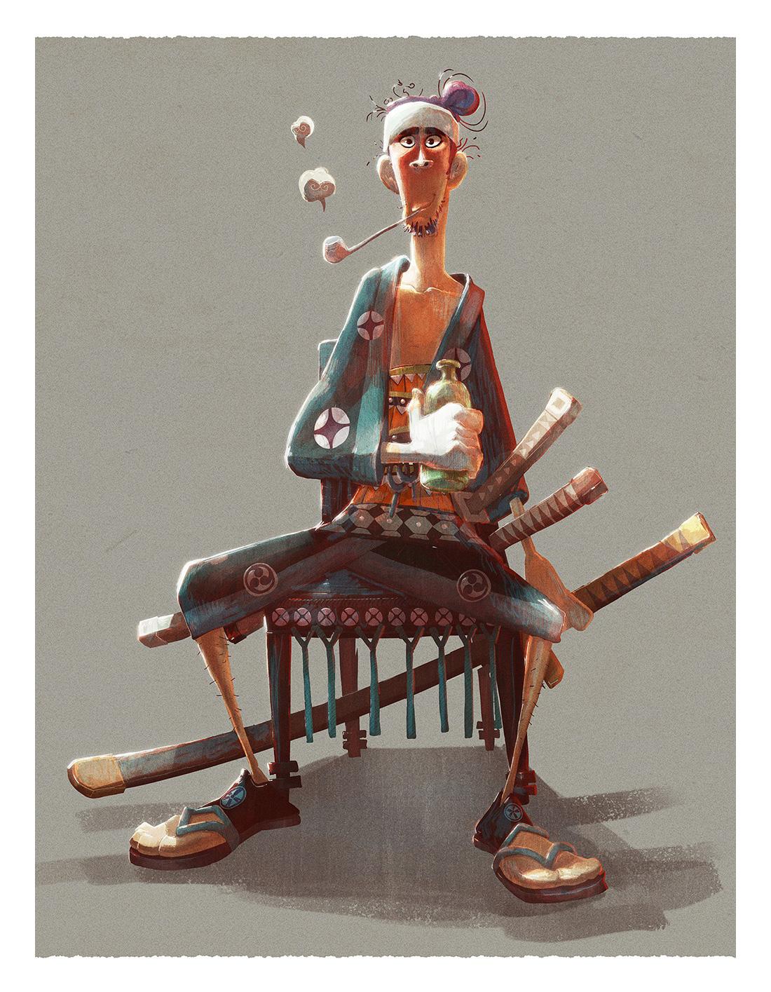 Samurai Concept Art and Illustration I