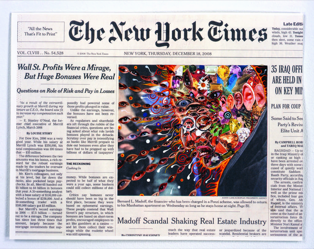 Creative Collages of the NY Times Front Pages