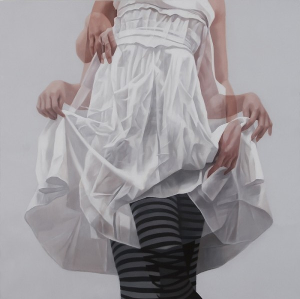 Tantalizing Overlapping Paintings - Horyon Lee