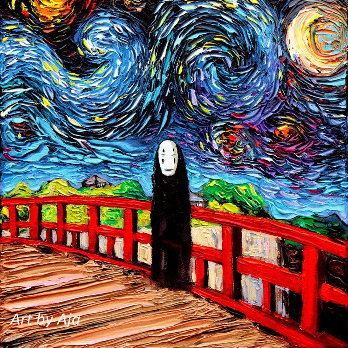 Sweet Reinterpretations of Van Gogh Painting