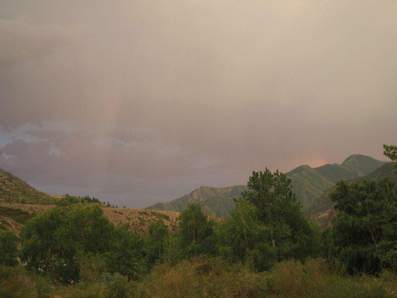 Россия, Горный Алтай - дождь (Russia, Mountain Altai - rain)