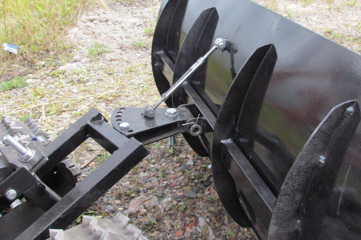 Лопата мотоблочная для гусеничной приставки