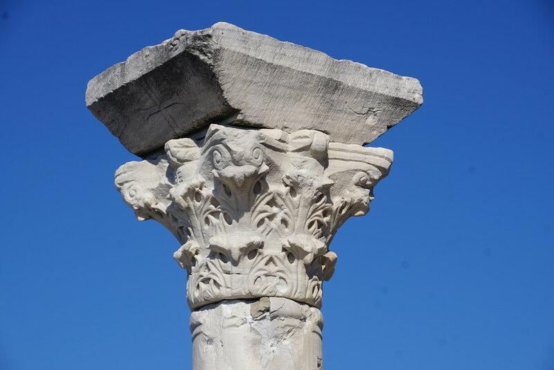 Капитель колонны храма Херсонеса