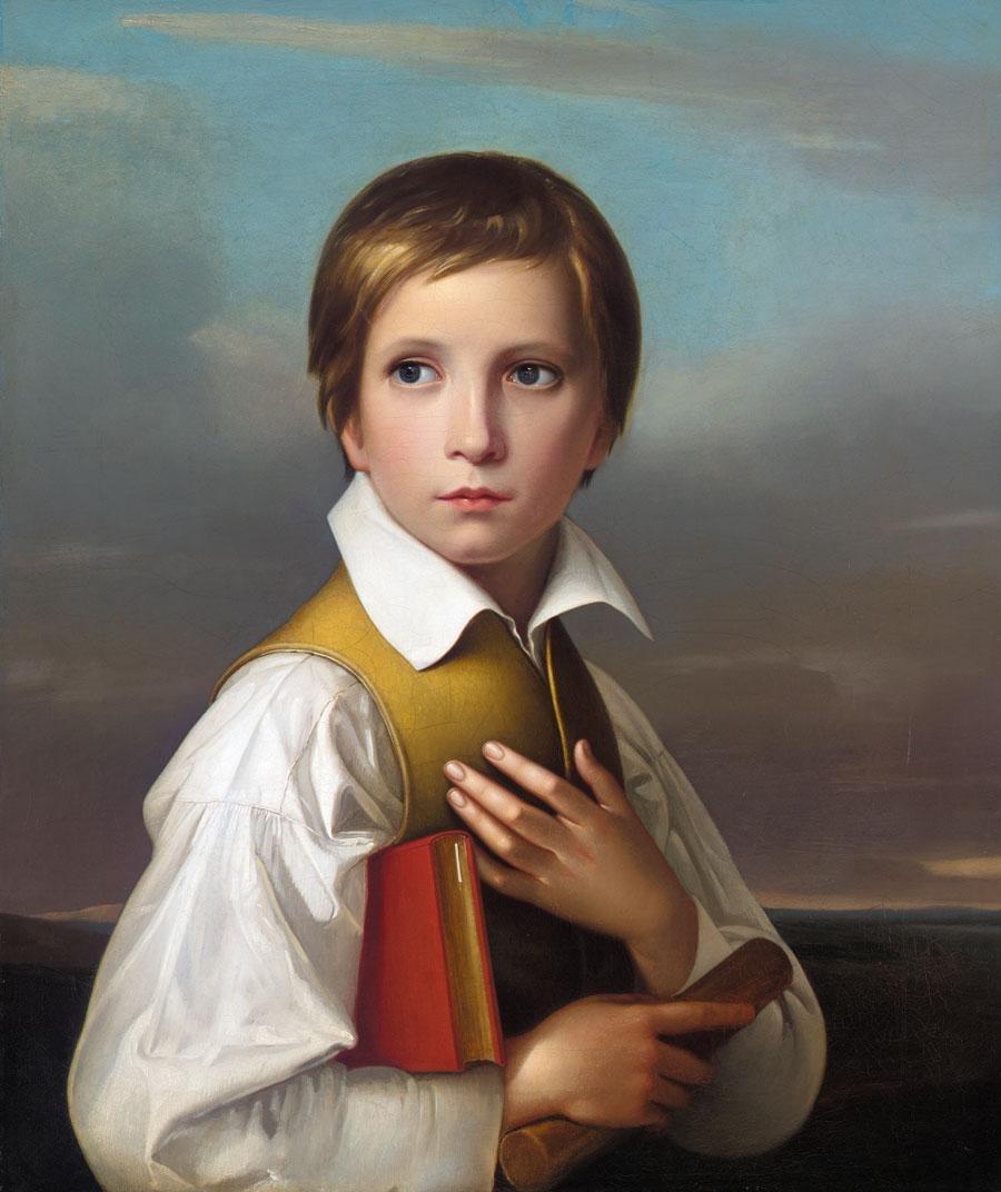 Portrait of Felix Schadow.