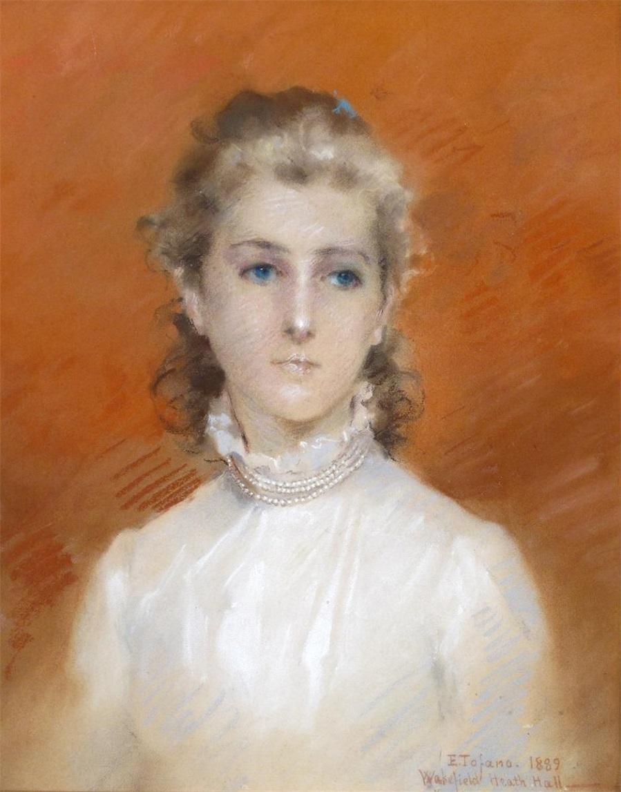 Susan de Saumarez Percy, daughter of Percy Tew of Heath Hall, aged 15 , 1889.Jpeg