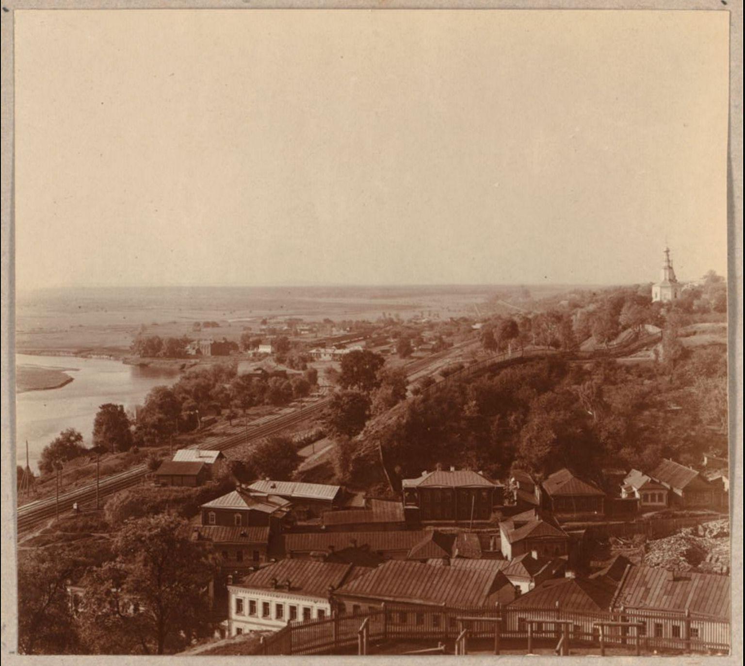 Юго-западная часть Владимира с Пушкинского бульвара