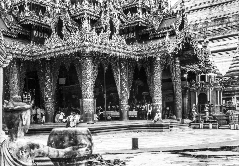 841. Рангун. Пагода Шведагон, Северный храм
