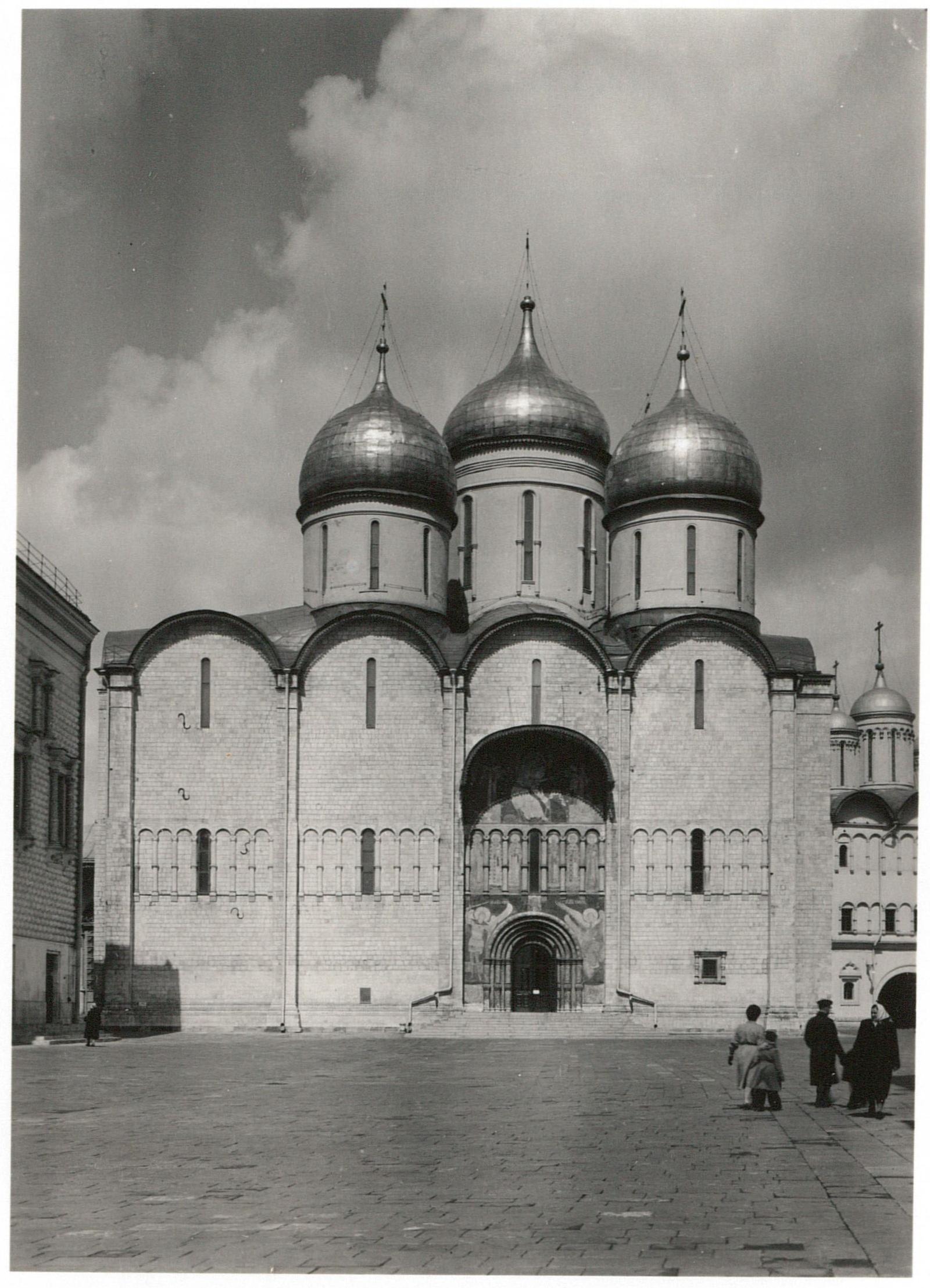 Кремль. Успенский собор,  южная сторона