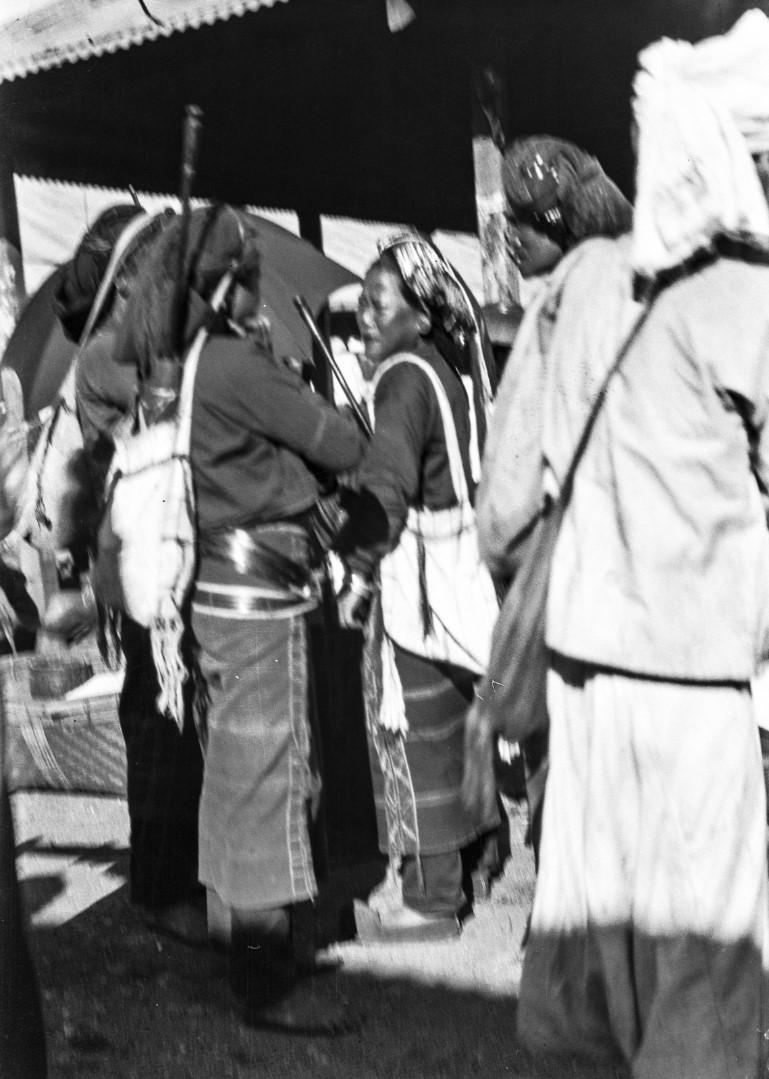 1104. Женщины народности палаунг