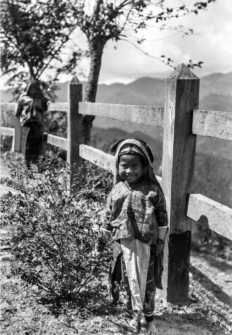 1113. Портрет девочки народности палаунг