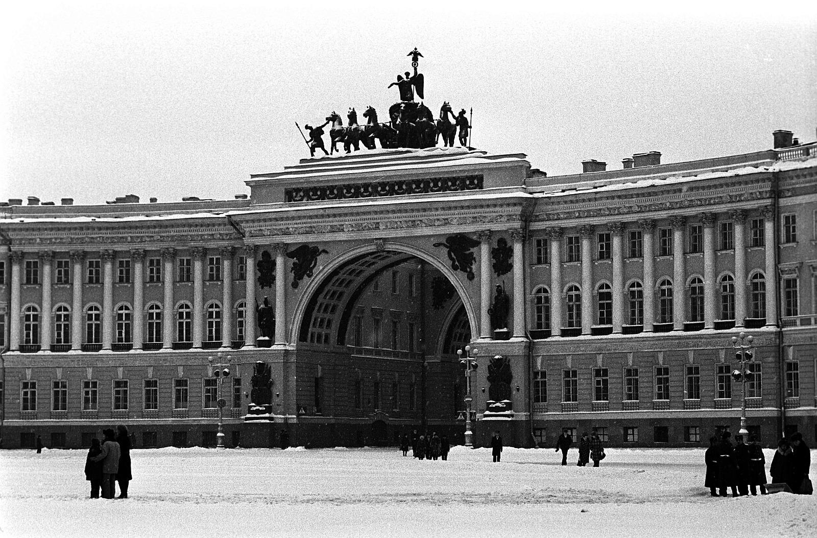 Дворцовая площадь. Арка Главного штаба