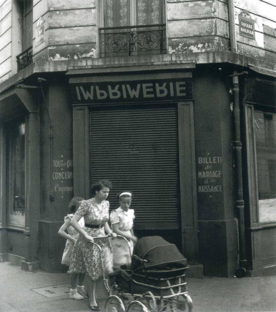 1954. Угол улицы Клавель и площади Боливара
