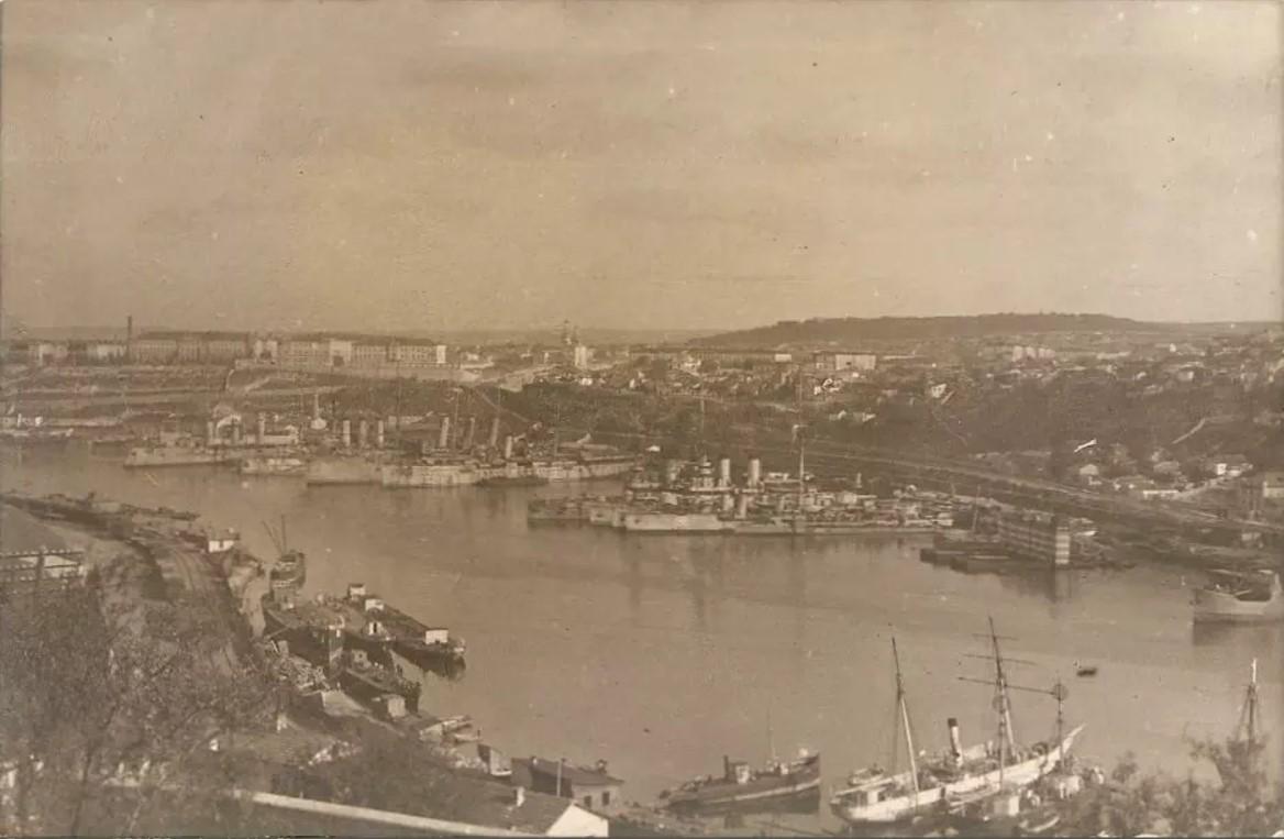 1918. Вид на Южную бухту