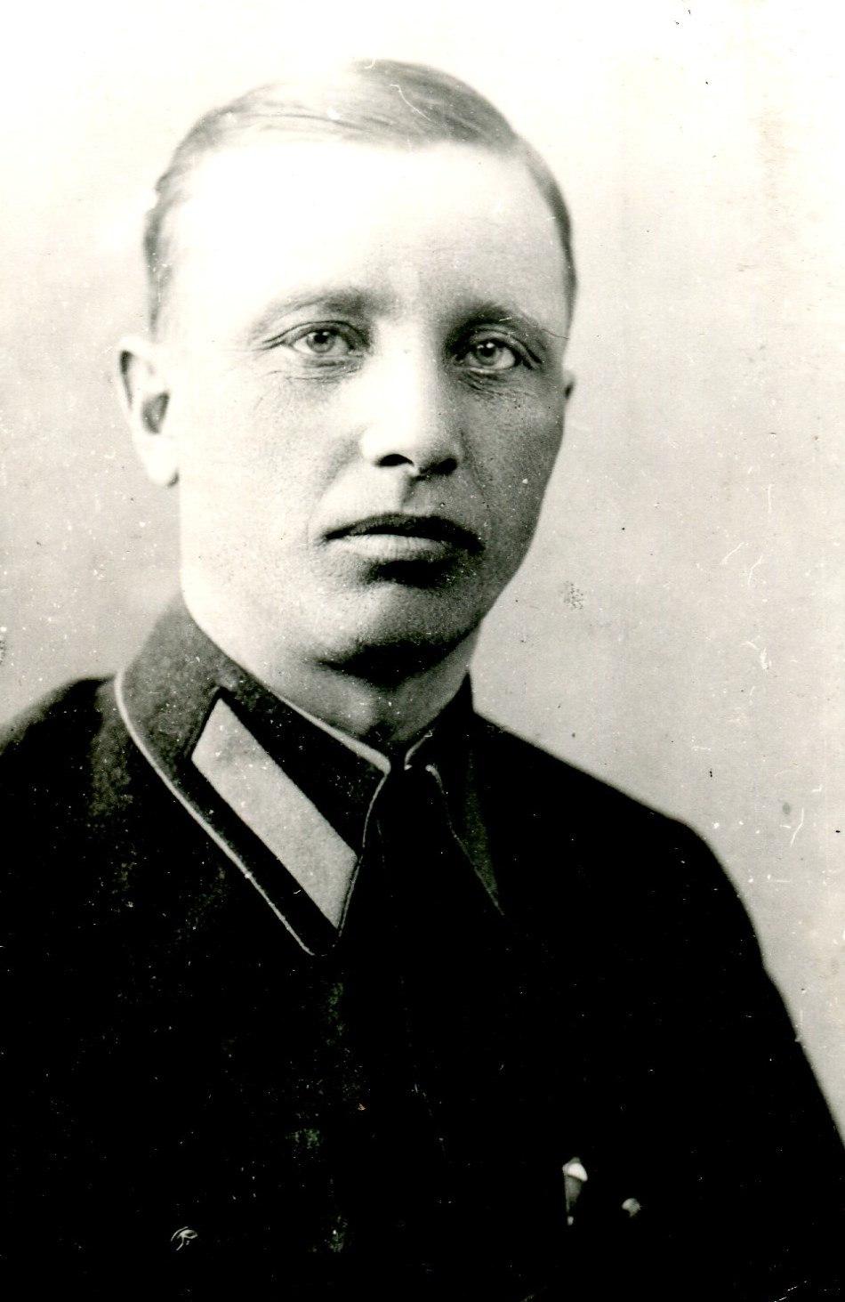 1934. М.Г. Епшиев - первый начальник Калининского аэроклуба